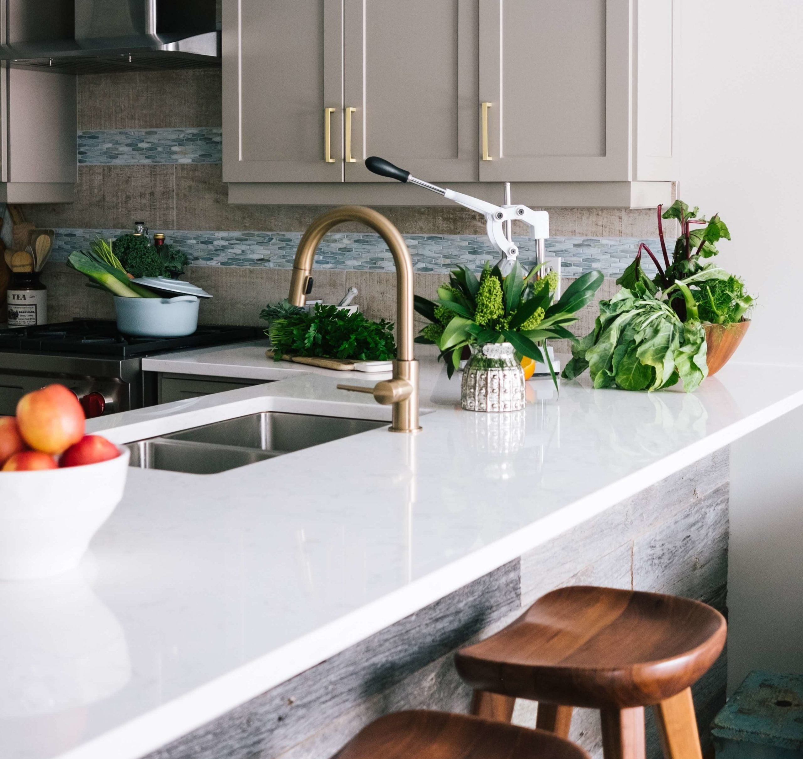 best upgrades for rental property new countertops